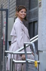 JESSICA WRIGHT Arrives at ITV Studios in London 05/24/2017