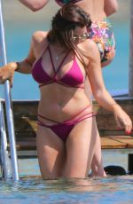 JESSICA WRIGHT in Bikini at a Beach in Ibiza 05/27/2017