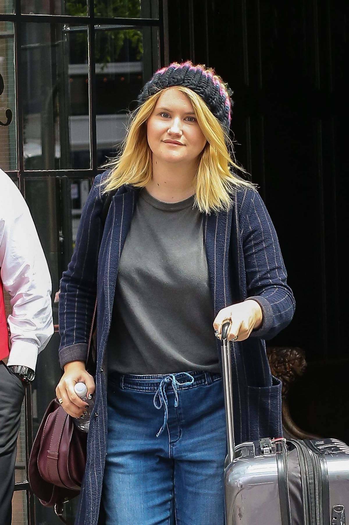 JILLIAN BELL Leaves Bowery Hotel in New York 05/23/2017