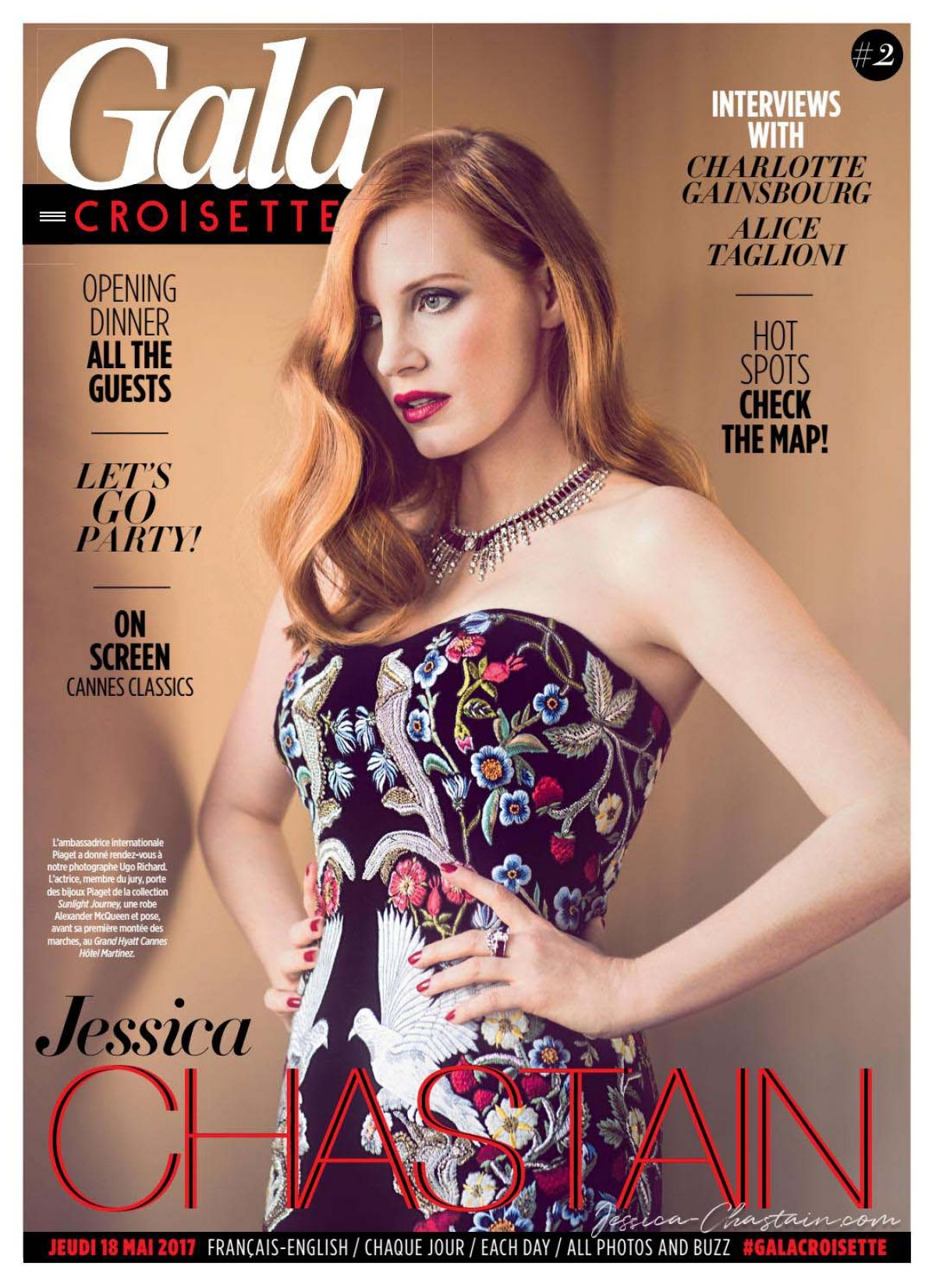 jessica chastain in gala croisette 05182017