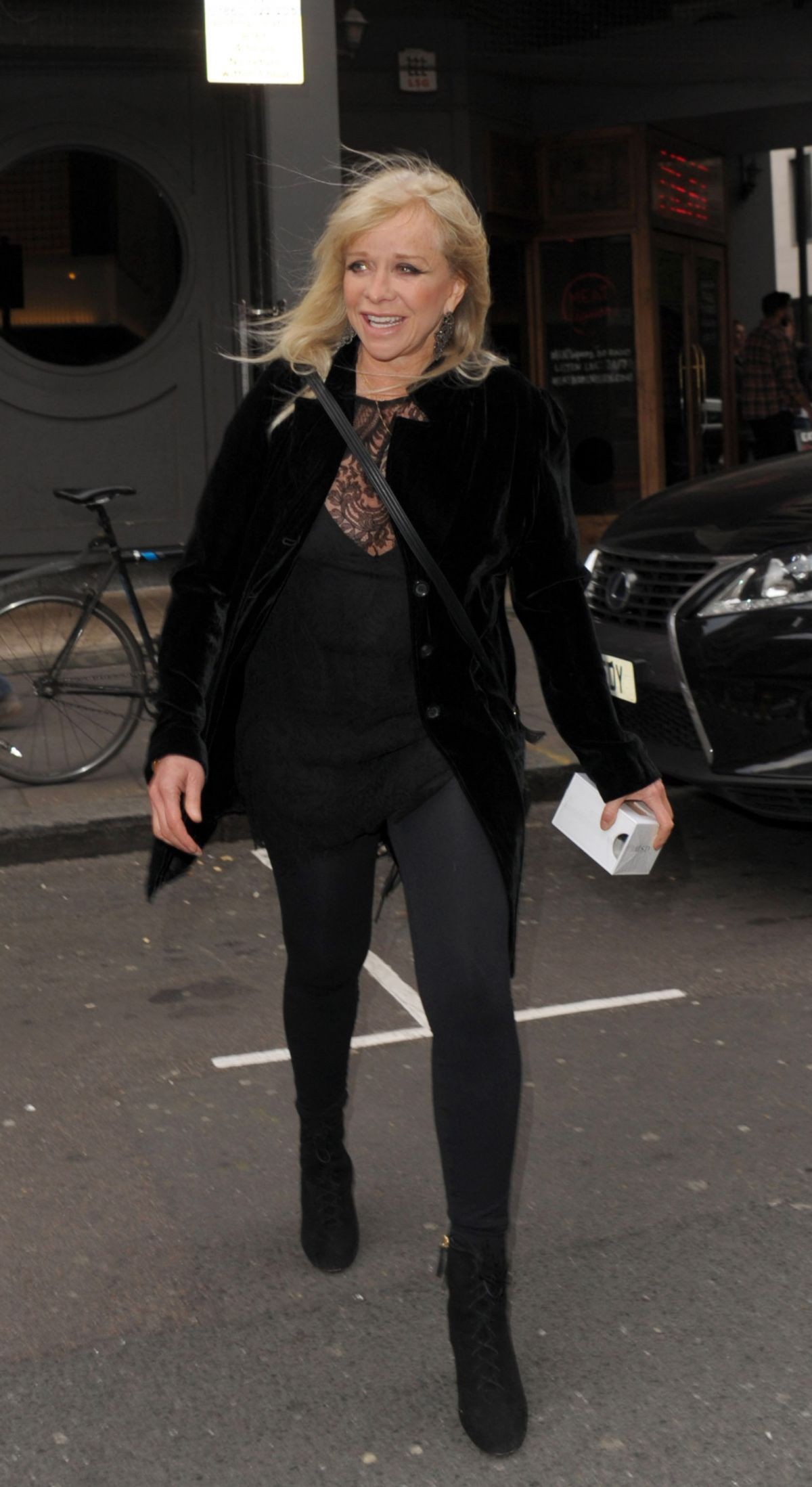 JO WOOD at Lizzie Cundy Birthday Party in London 05/02/2017