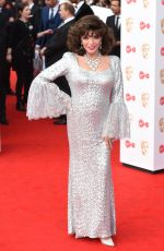 JOAN COLLINS at 2017 British Academy Television Awards in London 05/14/2017