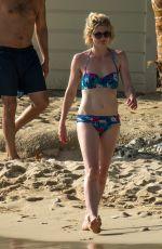 JODIE WHITTAKER in Bikini on the Beach in Barbados 05/22/2017