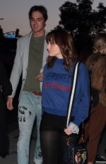 JOEY KING Arrives at Tyler Shields Photo Exhibit in Hollywood 05/11/2017