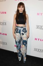 JOEY KING at Nylon Young Hollywood May Issue Party in Los Angeles 05/02/2017