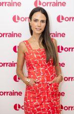 JORDANA BREWSTER at Lorraine Show in London 05/31/2017