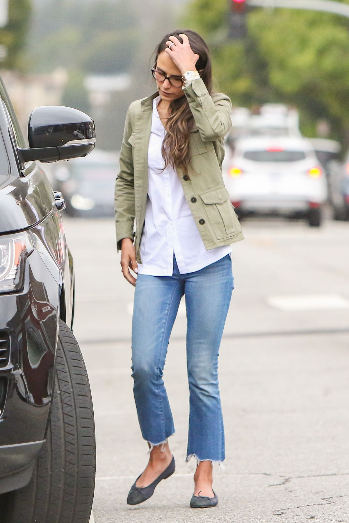 JORDANA BREWSTER in Jeans Out in Los Angeles 05/10/2017