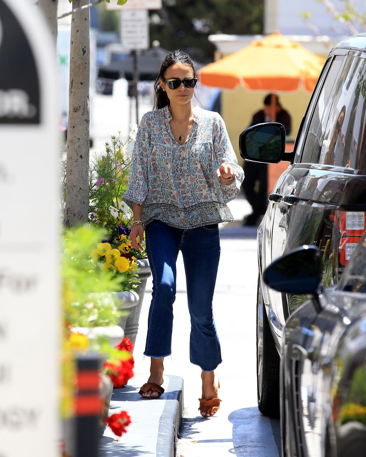 JORDANA BREWSTER Out Shopping in Beverly Hills 05/08/2017
