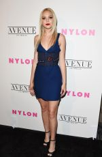 JORDYN JONES at Nylon Young Hollywood May Issue Party in Los Angeles 05/02/2017