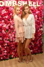 JOSEPHINE SKRIVER and STELLA MAXWELL VS Angels Bombshell Fragrance Event in New York 05/10/2017