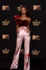 JOURDAN DUNN at 2017 MTV Movie & TV Awards in Los Angeles 05/07/2017