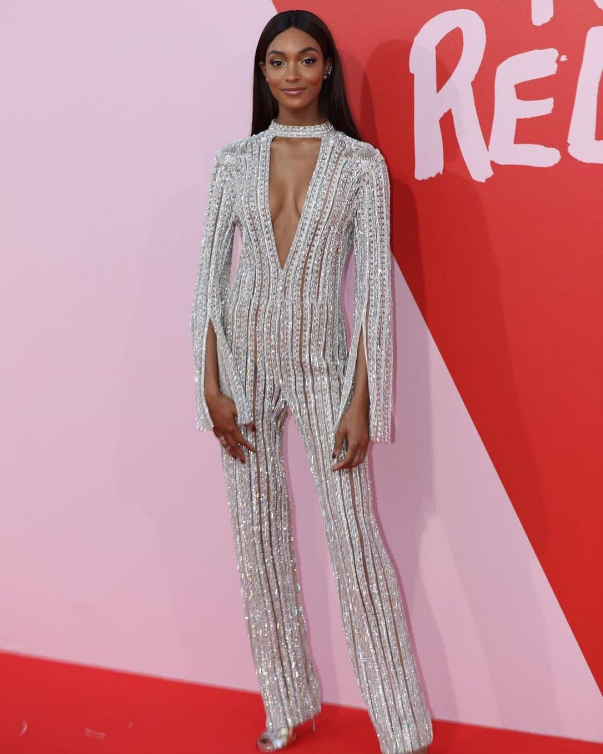 JOURDAN DUNN at Fashion for Relief Charity Gala in Cannes 05/21/2017