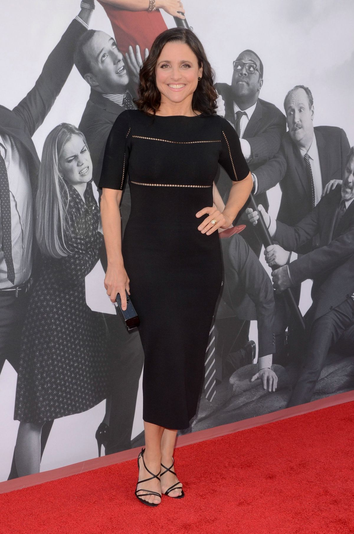 JULIA LOUIS-DREYFUS at Veep TV Show FYC Screening 05/25/2017