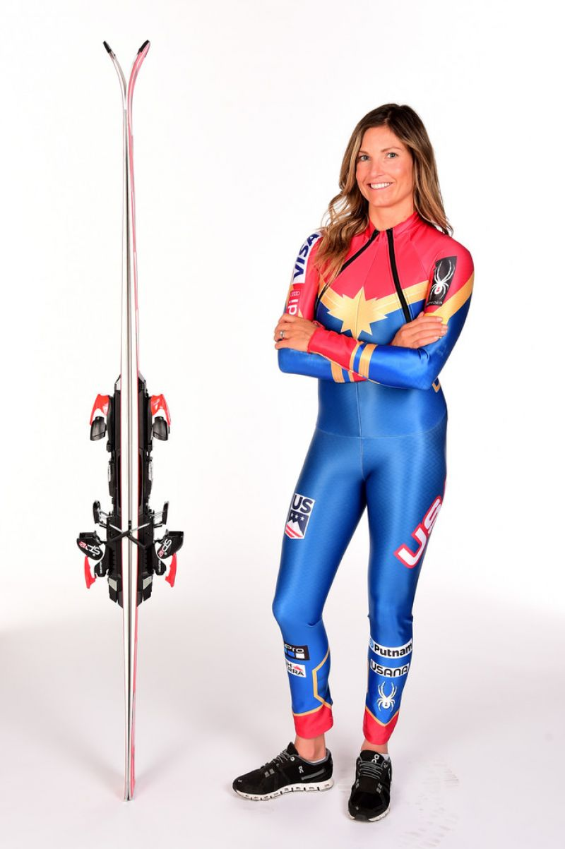 JULIA MANCUSO Team USA PyeongChang 2018 Winter Olympics Portraits ...