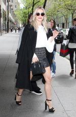 JULIANNE HOUGH Leaves NBC Studios in New York 05/01/2017