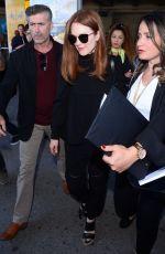 JULIANNE MOORE Arrives at Airport in Nice 05/16/2017