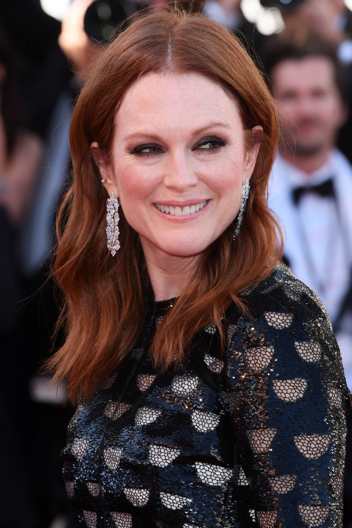 JULIANNE MOORE at Okja Premiere at 70th Annual Cannes Film ...