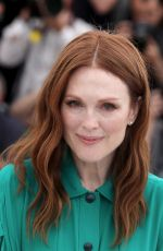 JULIANNE MOORE at Wonderstruck Photocall at 70th Annual Cannes Film Festival 05/18/2017