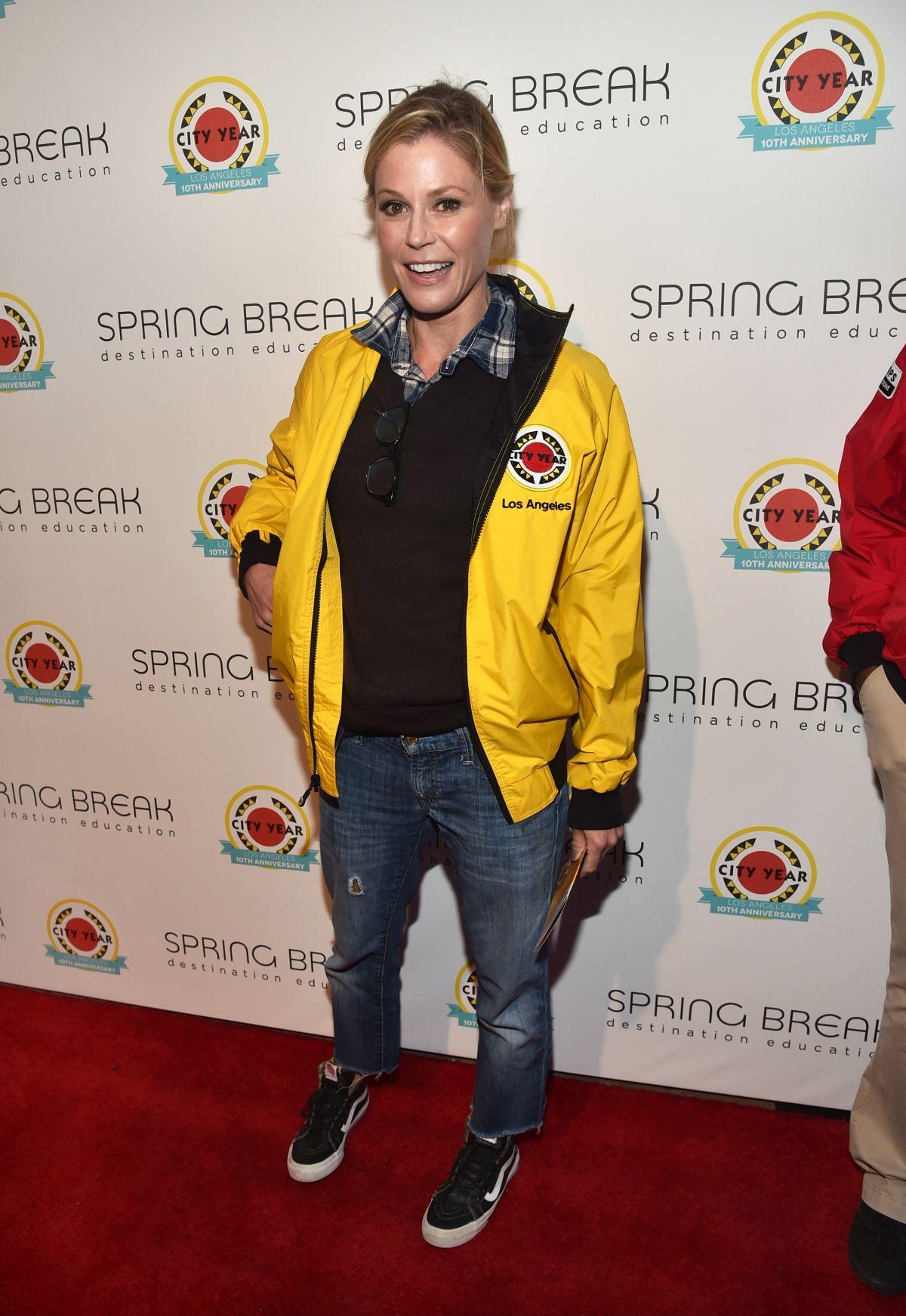 JULIE BOWEN at City Year Los Angeles Spring Break in Los Angeles 05/06/2017