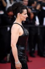 JULIETTE BINOCHE at 70th Annual Cannes Film Festival Closing Ceremony 05/28/2017