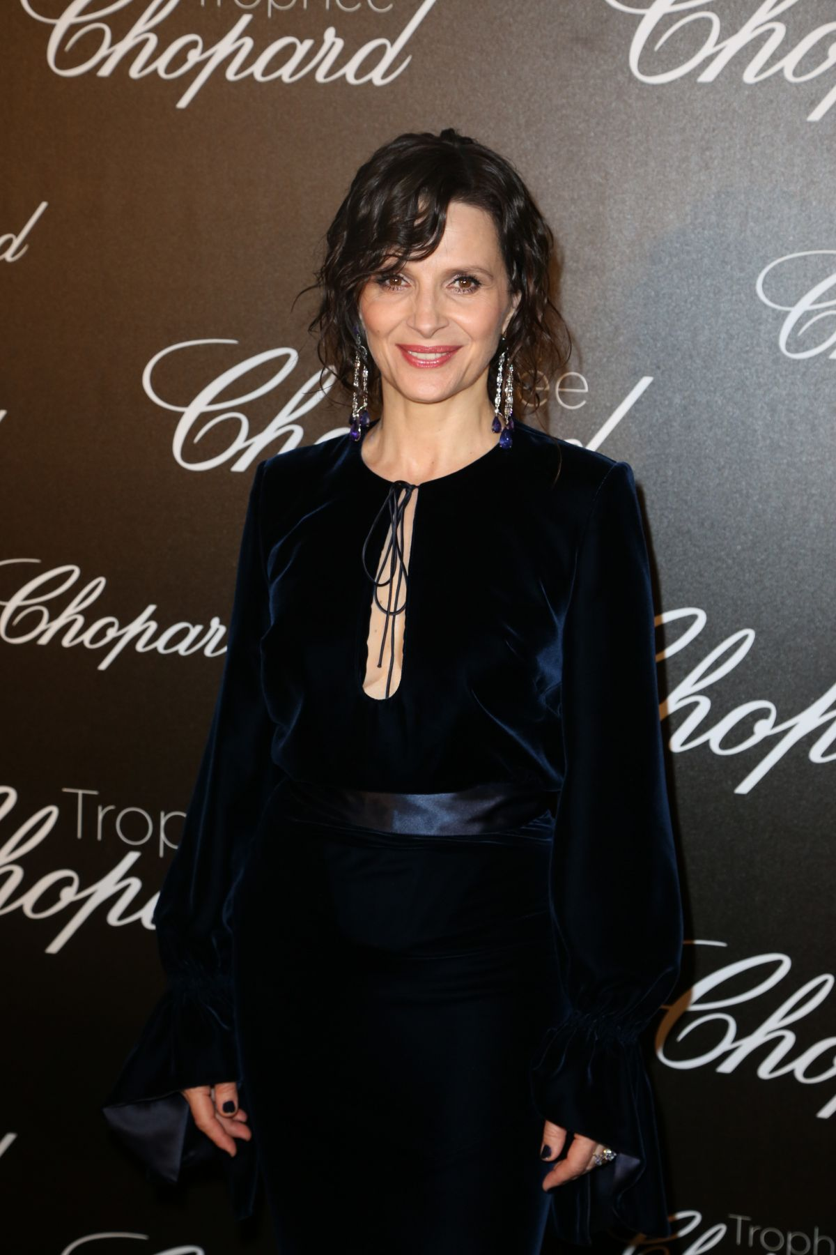 JULIETTE BINOCHE at Chopard Trophy Event in Cannes 05/22/2017