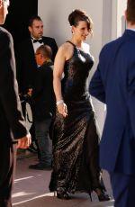 JULIETTE BINOCHE Leaves Hotel Barriere Le Majestic in Cannes 05/28/2017