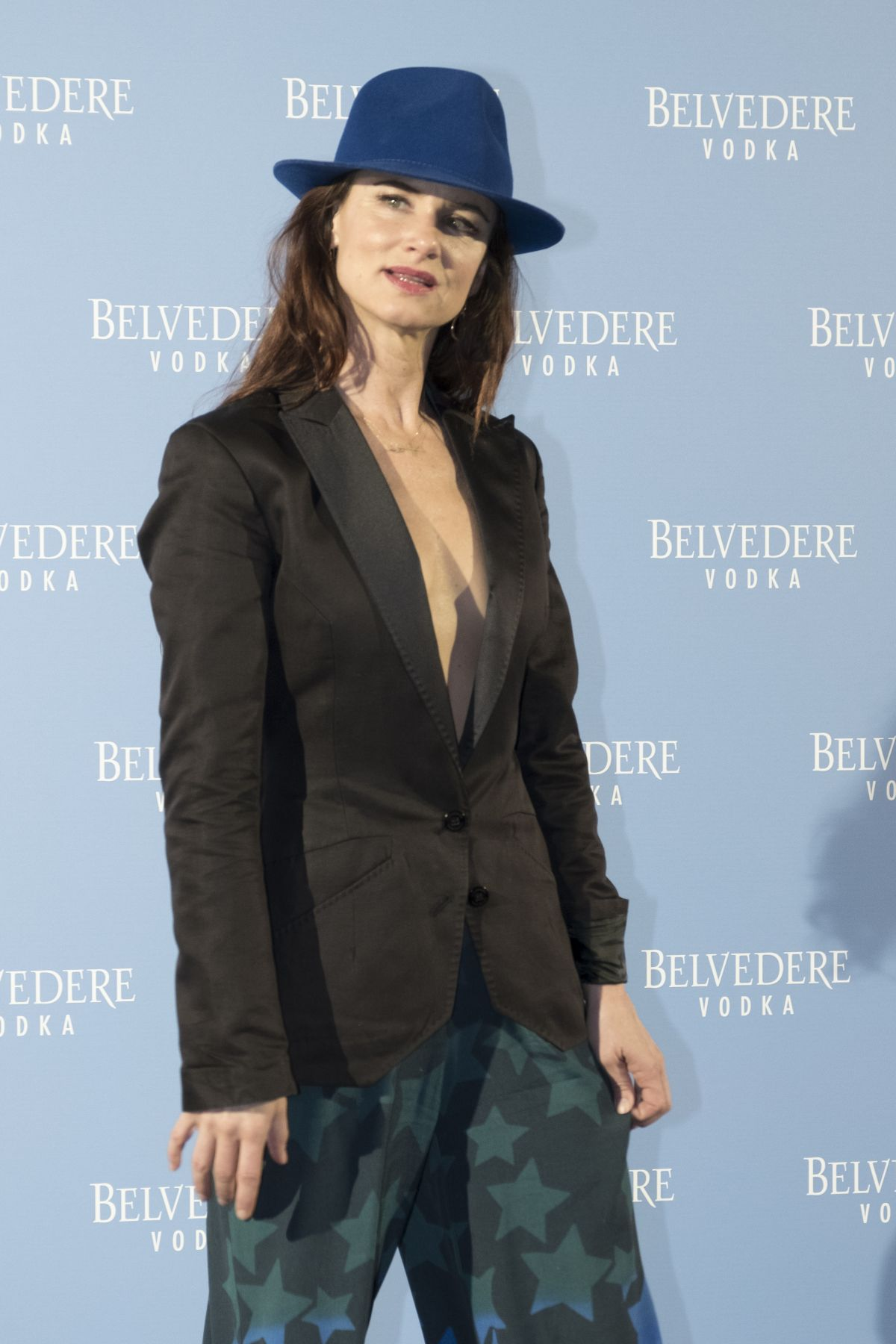 JULIETTE LEWIS at Belvedere Vodka Party at Kamikaze Theatre in Madrid 05/25/2017
