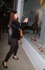 JULIETTE LEWIS at De Re Gallery in Los Angeles 05/05/2017