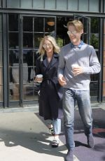 KALEY CUOCO and Karl Cook Leaves Bowery Hotel in New York 05/03/2017