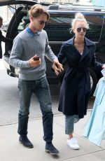 KALEY CUOCO and Karl Cook Out in New York 05/03/2017