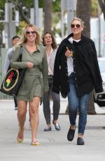 KALEY CUOCO Out and About in Beverly Hills 05/25/2017