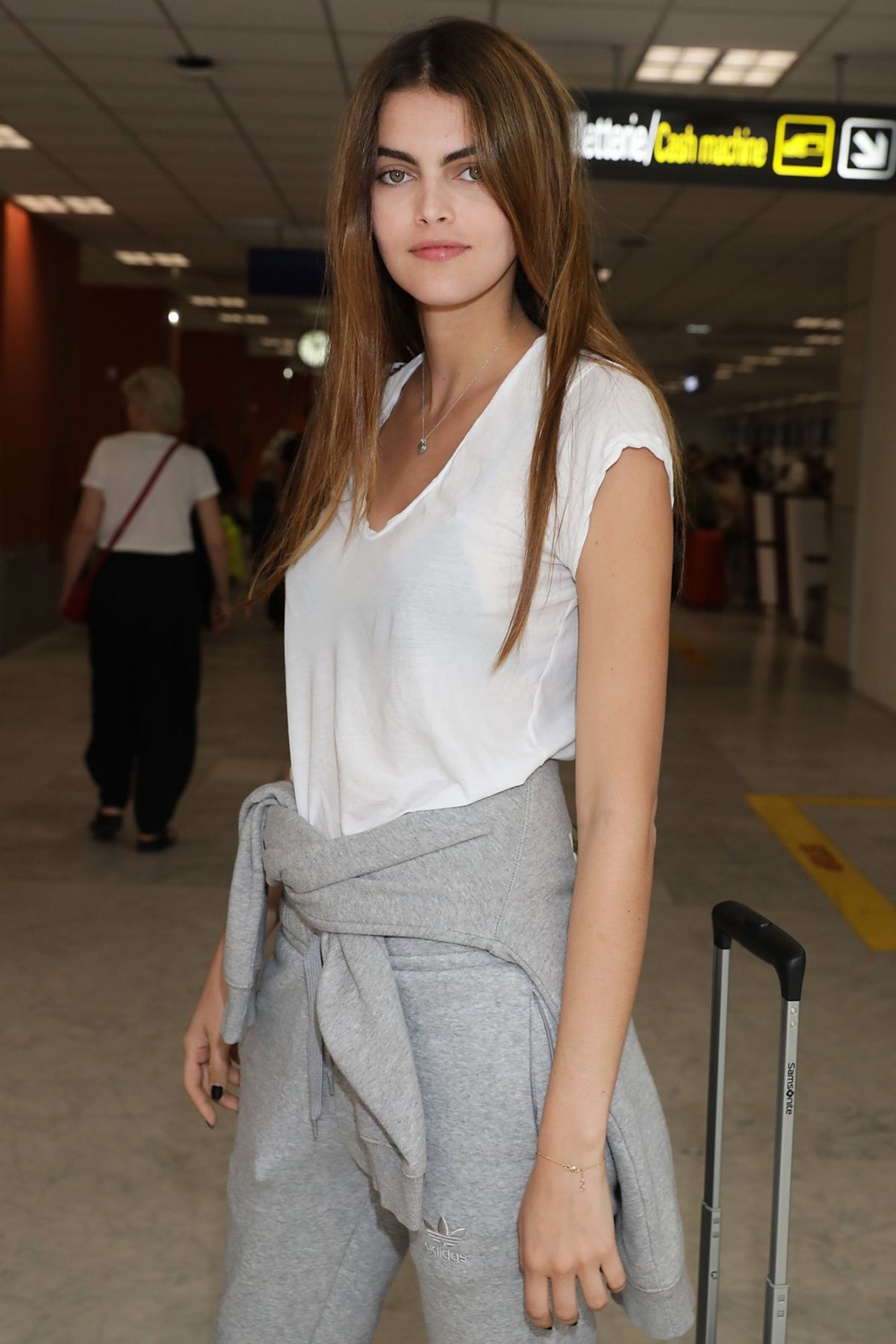 KAMILA HANSEN at Airport in Nice 05/29/2017