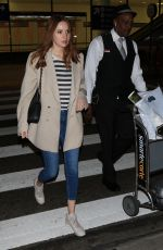 KAREN GILLAN at Lax Airport in Los Angeles 05/28/2017