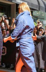 KARLIE KLOSS Arrives at Mark Hotel in New York 05/01/2017