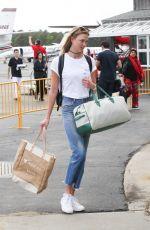 KARLIE KLOSS Arrives in the Hamptons for Memorial Day Weekend 05/26/2017