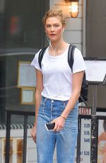 KARLIE KLOSS in Jeans Out in New York 05/23/2017