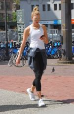 KARLIE KLOSS Leaves a Gym in New York 05/15/2017