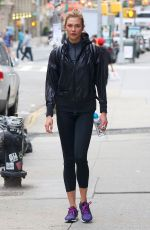 KARLIE KLOSS Leaves a Gym in New York 05/29/2017
