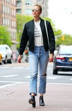 KARLIE KLOSS Out and About in New York 05/09/2017