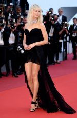 KAROLINA KURKOVA at Based on a True Story Premiere at 70th Annual Cannes Film Festival 05/27/2017