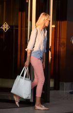 KAROLINA KURKOVA Leaves Martinez Hotel in Cannes 05/27/2017