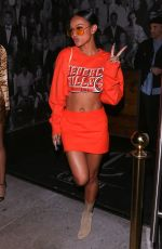 KARREUCHE TRAN at Catch LA in West Hollywood 05/12/2017