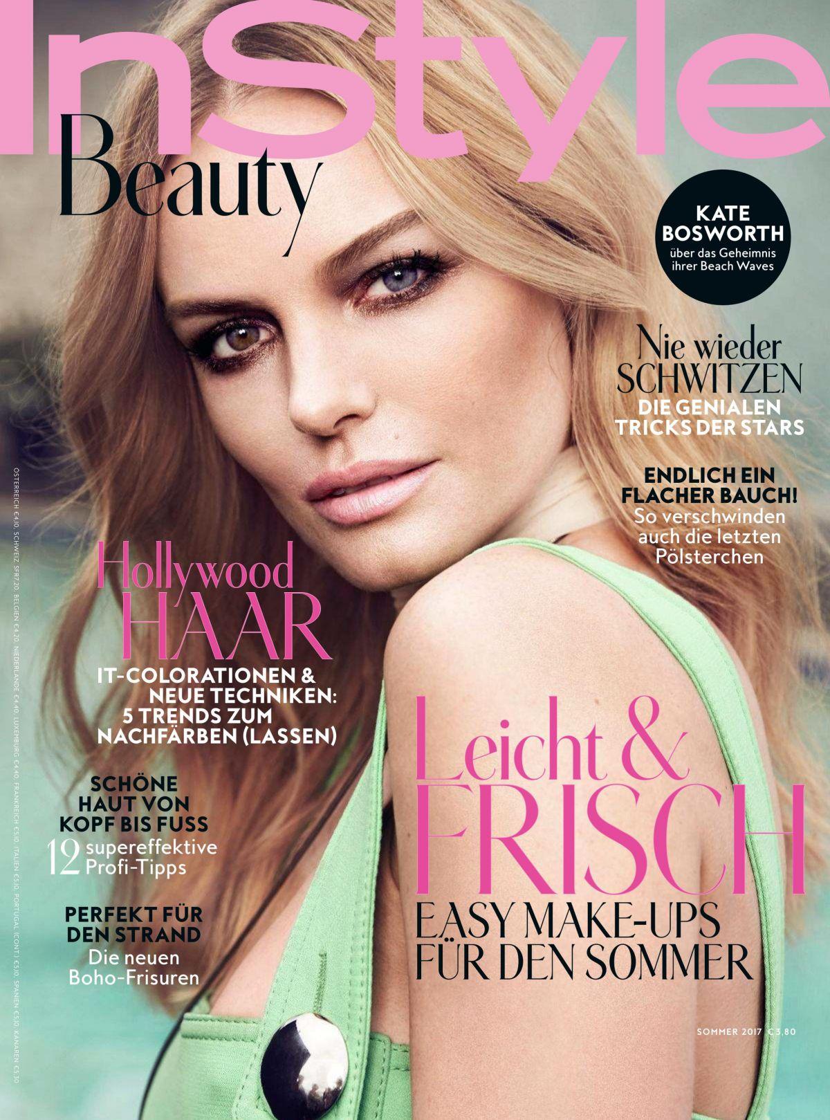 Michelle Dockery - InStyle Magazine (UK) January 2014