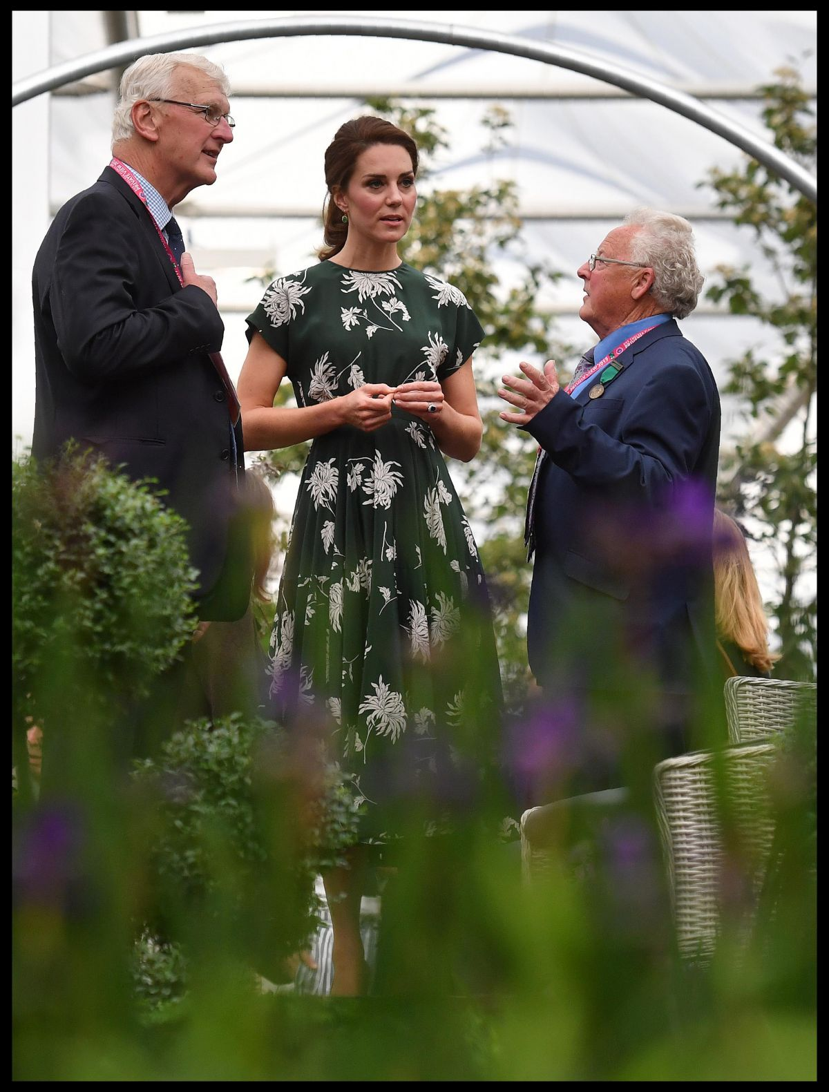 KATE MIDDLETON at 2017 RHS Chelsea Flower Show in London 05/22/2017