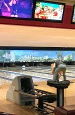KATE MARA and Jamie Bell Bowling in Los Angeles 05/08/2017
