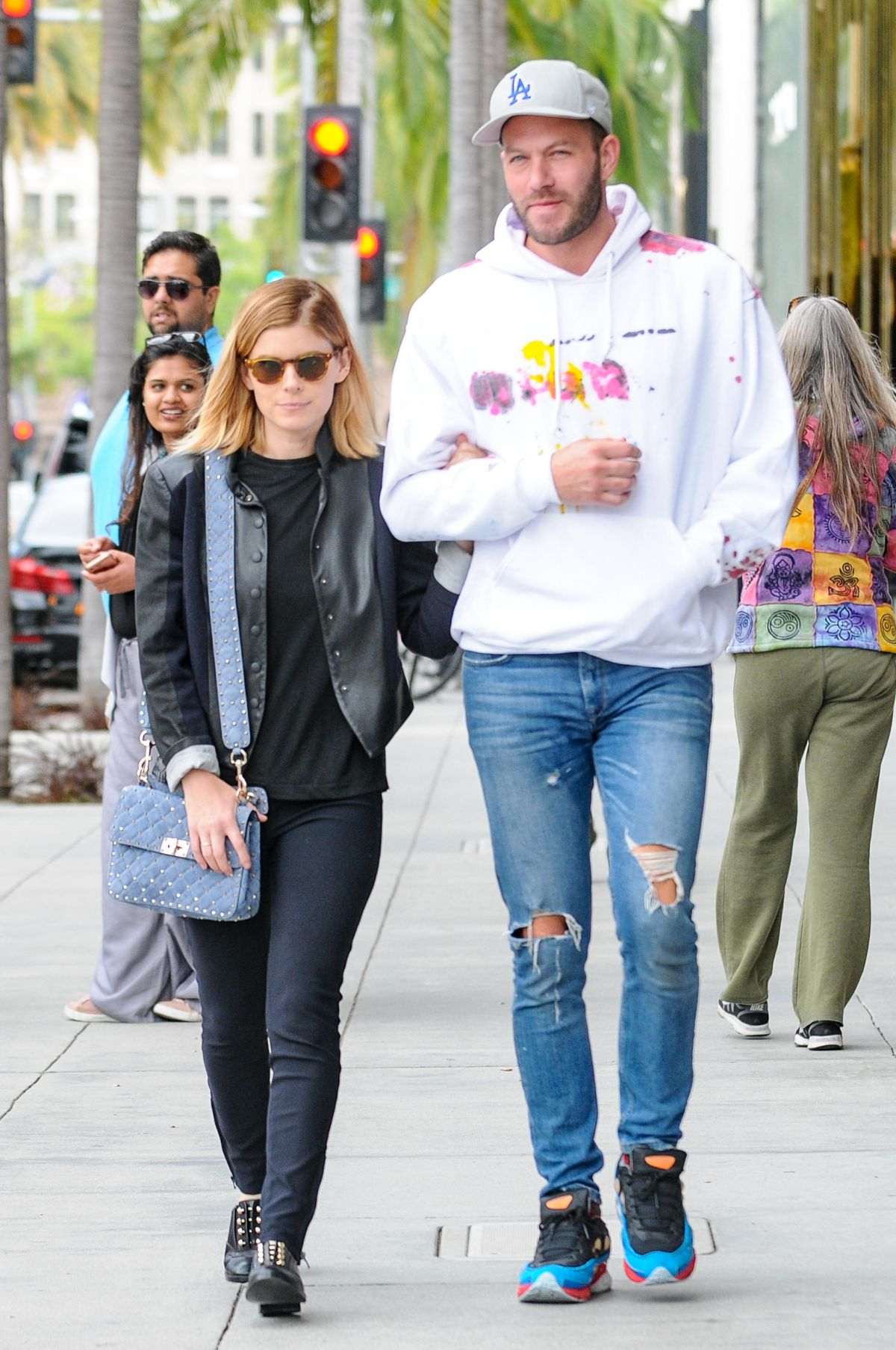 KATE MARA and Johnny Wujek Out in Los Angeles 05/09/2017
