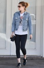 KATE MARA Leaves Ballet Bodies Class in West Hollywood 05/18/2017