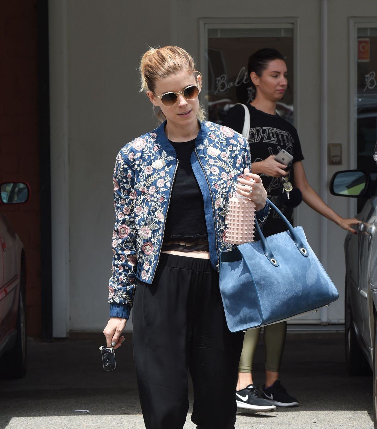 KATE MARA Leaves Ballet Bodies Class in West Hollywood 05/24/2017