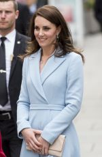 KATE MIDDLETON Arrives at Musée D'Art Moderne Drand-Duc Jean in Luxembourg 05/11/2017