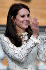 KATE MIDDLETON at Buckingham Palace 05/13/2017